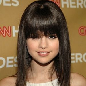 Accessories - New 14 inch synthetic wig with bangs brown